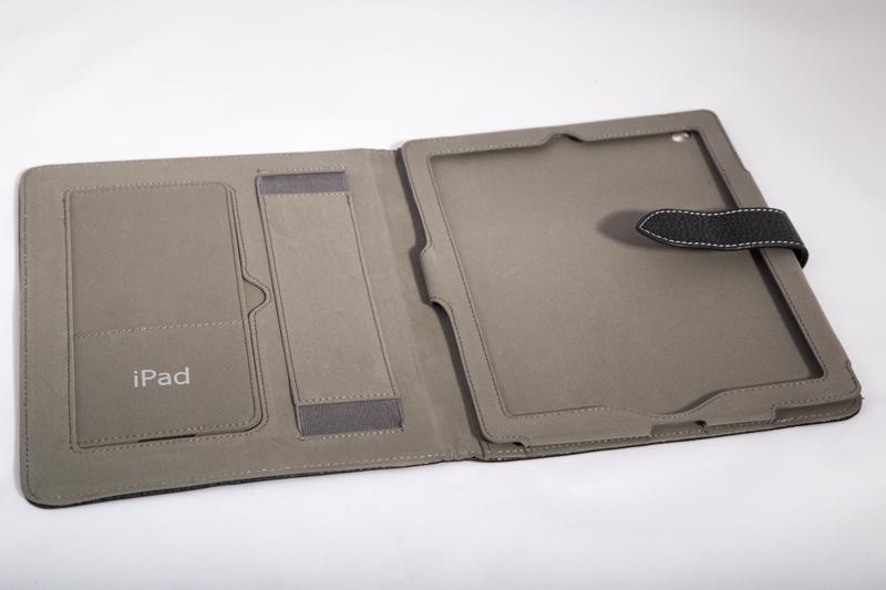 Кожаный чехол-книжка для IPad 2/3/4 (розовый) Ipad73