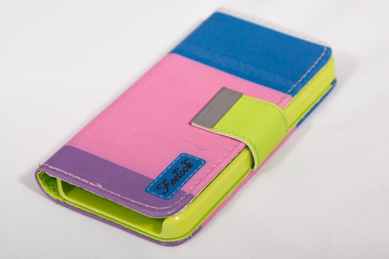 Чехол-книжка для iPhone 5, 5S цветной (арт. Iphone514)
