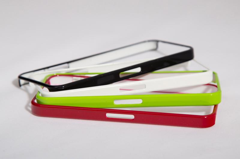 Бампер для iPhone 5, 5S (красный) арт. Iphone541