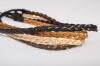 Резинка для греческой прически из искусственных волос арт. Z028
